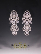 E160 Elegant Floral Earrings