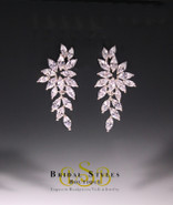 E169 Classic Floral Earrings