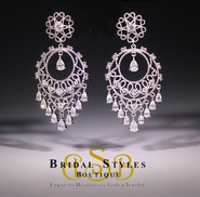 E187 Classic Chandelier Earrings