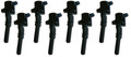 Ford 2 Valve Coil Packs Set Of 8