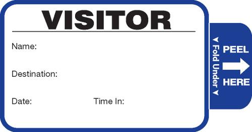Visitor Pass Registry Book - Self-Expiring (242E-806)