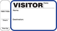 242H (716) Visitor Label Pass Book