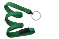 "3/8"" Breakaway Woven Lanyard with Key Ring (487KEY)"