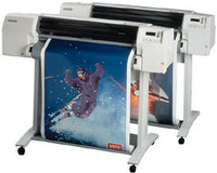 Rolling out Graphic Supplies using wide-format media leaves many 36 paper printers in the dust.  A Great innovation from HP