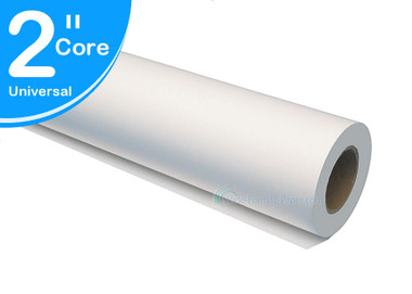 "US sold Product - Satin Cloth Printing Roll, 6 mil, 60"" x 60' Large-Format 2""core"