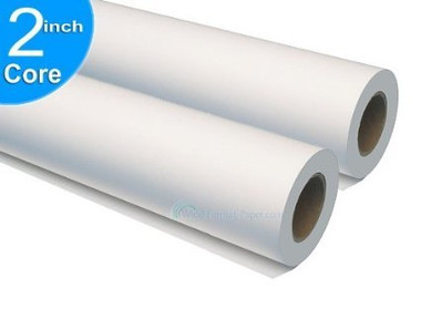 "Large-Format Paper 2 Roll/Carton Product - 18"" x 150' 24lb, Inkjet Coated Bond  74518"