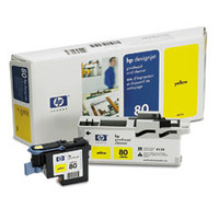 HP 80 - Printhead - Yellow