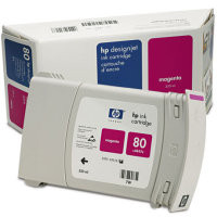 HP 80 - Ink Cartridge - Magenta  350ml