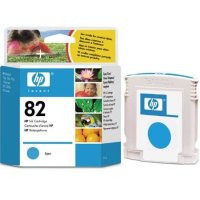 HP 82 - Ink Cartridge - Cyan 69ml