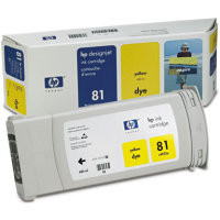 HP 81 - Ink Cartridge - Yellow Dye 680ml
