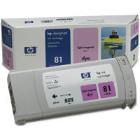 HP 81 - Ink Cartridge - Light Magenta Dye 680ml