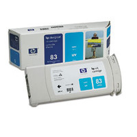 HP 83 - Ink Cartridge - Cyan UV 680ml