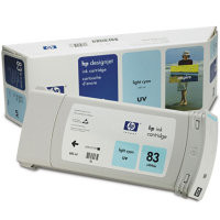 HP 83 - Ink Cartridge - Light Cyan UV 680ml