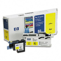 HP 81 - Yellow Dye Printhead/Cleaner