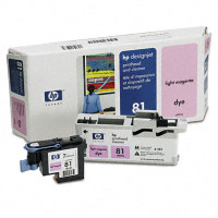 HP 81 - Light Magenta Dye Printhead/Cleaner