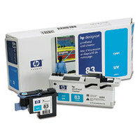 HP 83 - Cyan UV Printhead/Cleaner