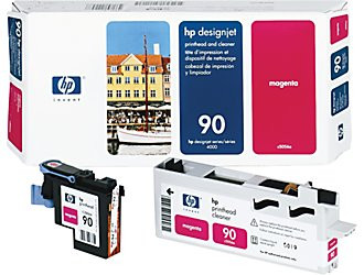 HP 90 - Magenta - Printhead and Cleaner
