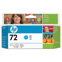 HP 72 - Ink Cartridge - Cyan 130ml