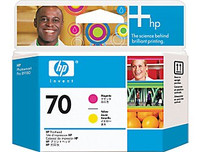 HP 70 - Printhead - 1 X Magenta,Yellow