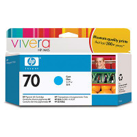 HP 70 - Ink Cartridge - Cyan 130ml