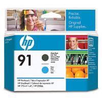 HP 91 - Printhead - 1 x Cyan,Matte Black