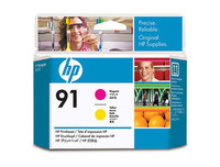 HP 91 - Printhead - 1 x Magenta,Yellow