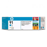 HP 91 - Ink Cartridge - Cyan 775ml
