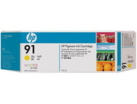 HP 91 - Ink Cartridge - Yellow 775ml