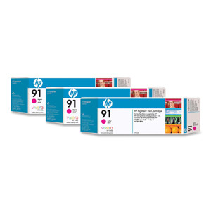 <p>HP 91 - 3-Ink Multipack - Magenta 775ml ea.</p>