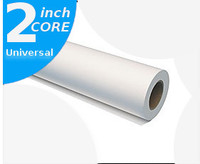"Gloss 60"" X 100' 8 mil. Photo Base Universal Micro-Porous Gloss Finish Wide Format Roll, 2"" Core, 1 roll"