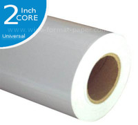 Roll of Large Format Mylar, Inkjet Clear Film, 4 mil, 24