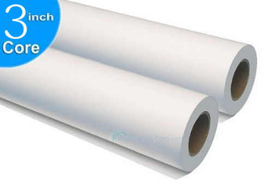 Roll Copier Wide-Format Papers / Engineering Rolls Paper Bond 3 Core Inkjet