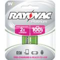 Rayovac PL1604-1 GEN NIMH 9V Battery