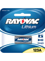 Rayovac RL123A-1 3V Lithium Battery