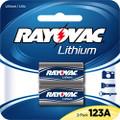 Rayovac RL123A-2 3V Lithium Battery 2pk