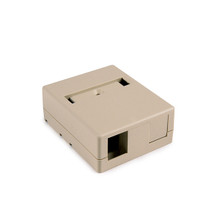 HellermannTyton | SMBDUAL-I | DUAL SURFACE MOUNT BOX- IVORY  |  Lectro Components