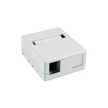 HellermannTyton | SMBDUAL-W | DUAL SURFACE MOUNT BOX - |  Lectro Components
