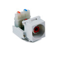 HellermannTyton   RCAR110-W   RCA 110 CONNECTOR WHITE     Lectro Components