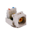 HellermannTyton   RCAY110-FW   RCA-110  YELLOW-OFFICE WHITE      Lectro Components