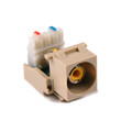 HellermannTyton | RCAY110-I | RCA-110 YELLOW-IVORY  |  Lectro Components