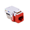 HellermannTyton | RJ11FC3-RED | CATEGORY 3 6P6C RJ11 FLUSH  |  Lectro Components