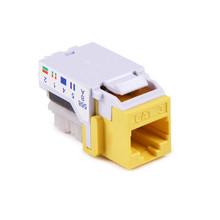 HellermannTyton | RJ11FC3-YEL | CATEGORY 3 6P6C RJ11 FLUSH  |  Lectro Components