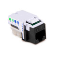 HellermannTyton | RJ45FC3-BLK | CATEGORY 3 8P8C RJ11 FLUSH  |  Lectro Components
