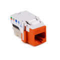 HellermannTyton | RJ45FC3-ORN | CATEGORY 3 8P8C RJ11 FLUSH  |  Lectro Components