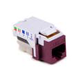 HellermannTyton | RJ45FC3-VIO | CATEGORY 3 8P8C RJ11 FLUSH  |  Lectro Components