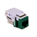 HellermannTyton | RJ45FC5E-GRN | CATEGORY 5E FLUSH MOUNT  |  Lectro Components