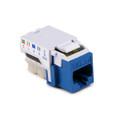 HellermannTyton   RJ45FC5EB-BLU   RJ45 CAT5E BLUE BULK 50/PK     Lectro Components