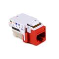 HellermannTyton   RJ45FC5EB-RED   RJ45 CAT 5E RED BULK 50/PK     Lectro Components