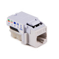 HellermannTyton | RJ45FC6B-FW | RJ45 CAT6 OFFICE WHITE   |  Lectro Components