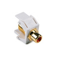 HellermannTyton | RCAFINSERT-W | RCA  F CONNECTOR  WHITE  |  Lectro Components